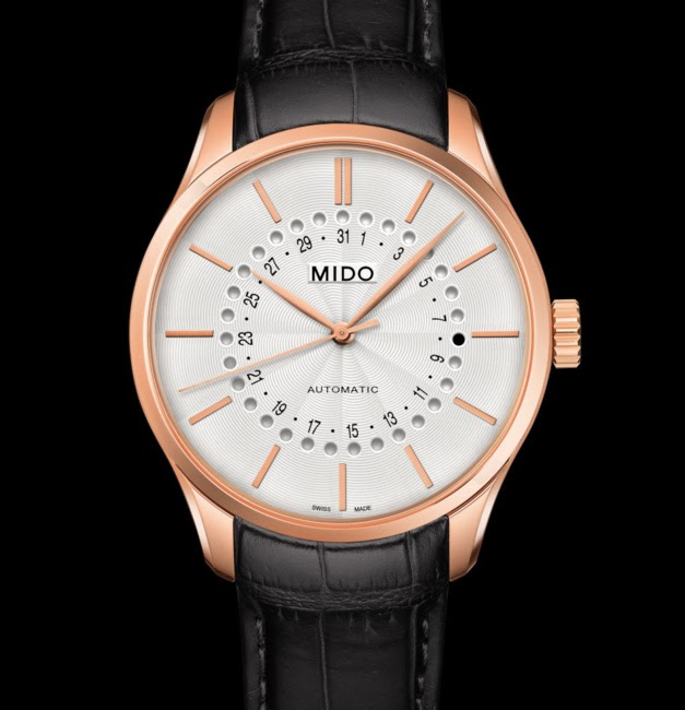 Mido Belluna Mysterious Date 40 mm : une