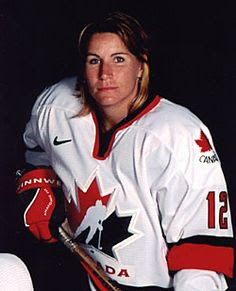 Lori Dupuis | Recognized as one of the top female hockey players in the world, Lori is a pioneer for women's hockey in Canada and abroad | Winner of 2002 Olympic Gold Medal, 1998 Olympic Silver Medal | 1997, 1999, 2000 World Champion | from Cornwall, Ontario