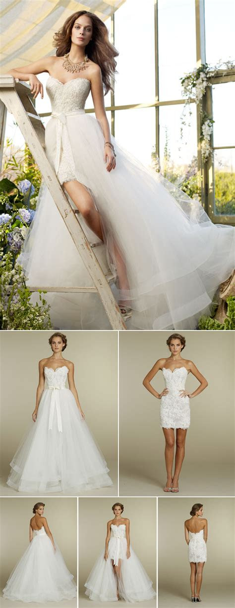 Convertible Two in One Wedding Dresses   Confetti.co.uk