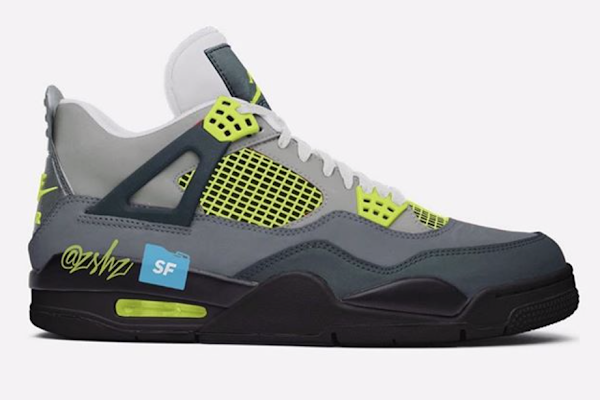 newest fb1d1 17022 Air Jordan 4 Neon Inspired By The Air Max 95 Dropping In Spring 2020 •  KicksOnFire.com. Following ...