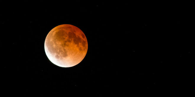April 2014 Blood Moon. (Photo: Anne Dirkse/ Wiki Commons)