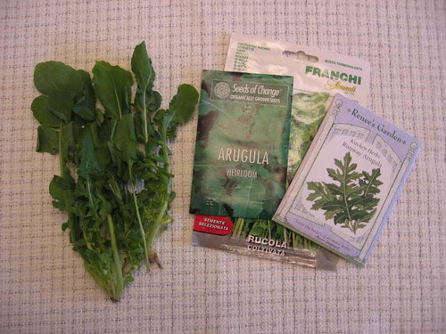 A is for arugula advice