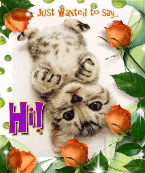 Just Wanted To Say Hi. Free Hi hello eCards, Greeting