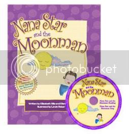 Nana Star and the Moonman Book & CD