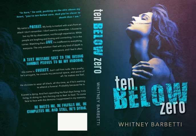 Ten Below Zero by Whitney Barbetti (Full Cover)