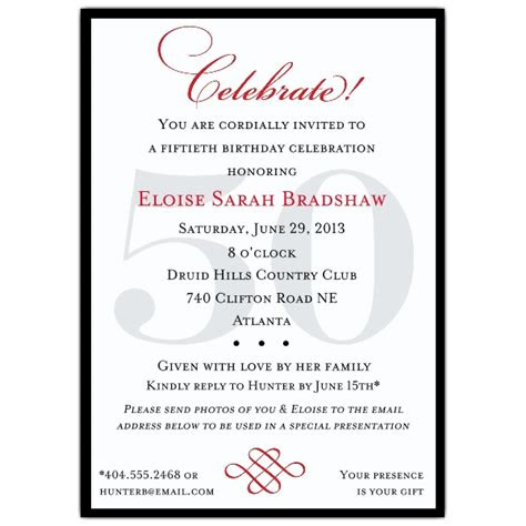 classic  birthday invitations paperstyle