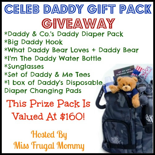Celeb Daddy Gift Pack Giveaway