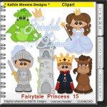 Fairytale Princess Clipart - CU