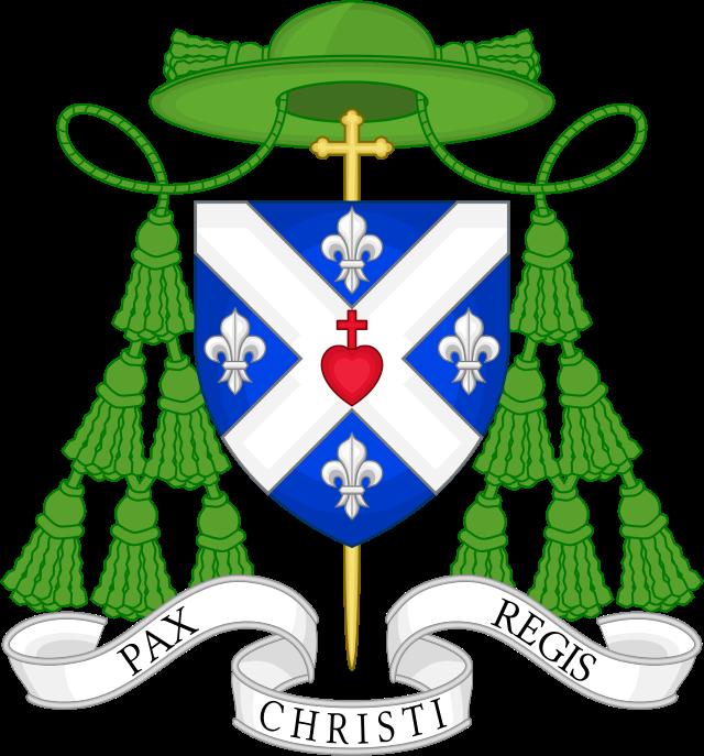 Blason Bernard Tissier de Mallerais.svg