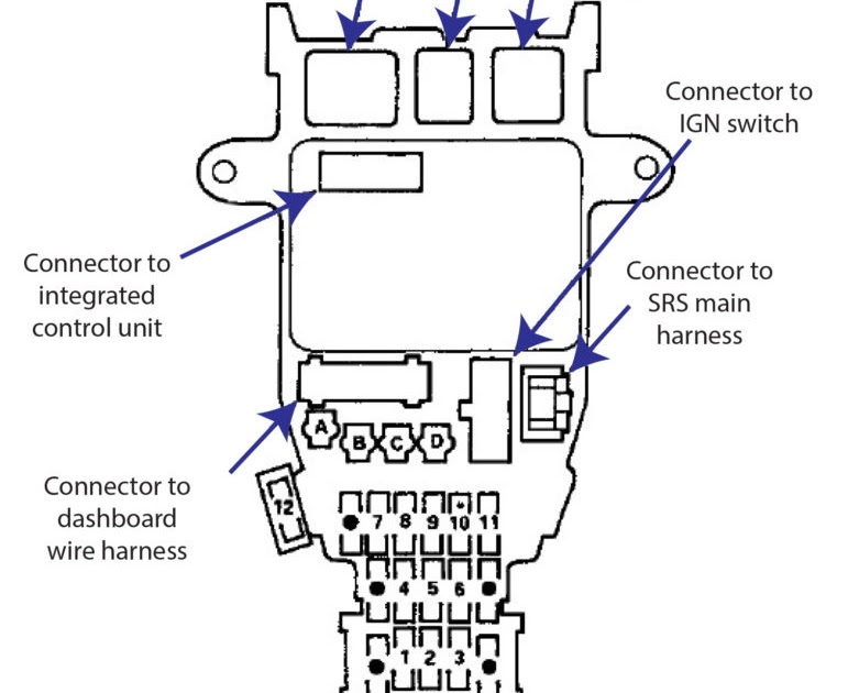 Single Flasher Fuse Box Layout - Complete Wiring Schemas