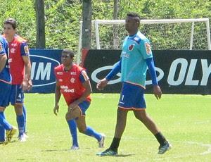 Felipe treino Flamengo (Foto: Richard Souza / Globoesporte.com)