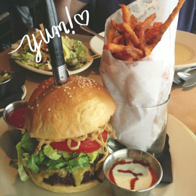 lucky's burger and fries