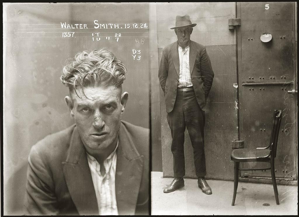 photo police sydney australie mugshot 1920 09 Portraits de criminels australiens dans les années 1920  photo photographie histoire featured art