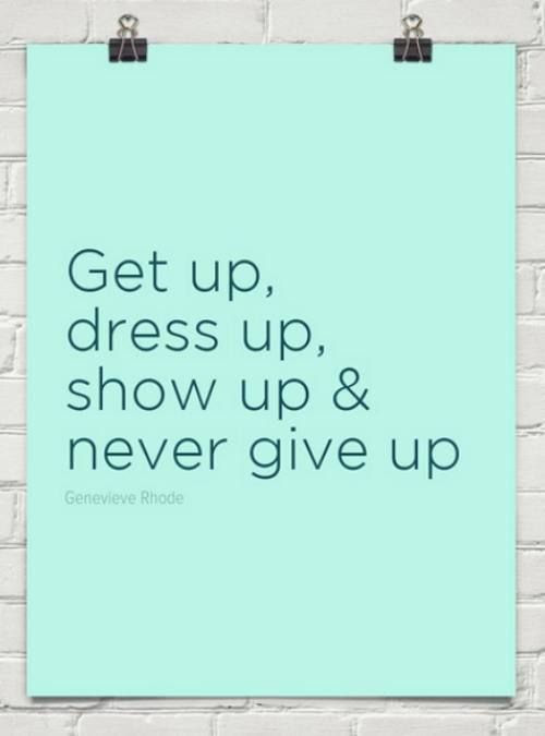 Never Give Up! Ever!!!