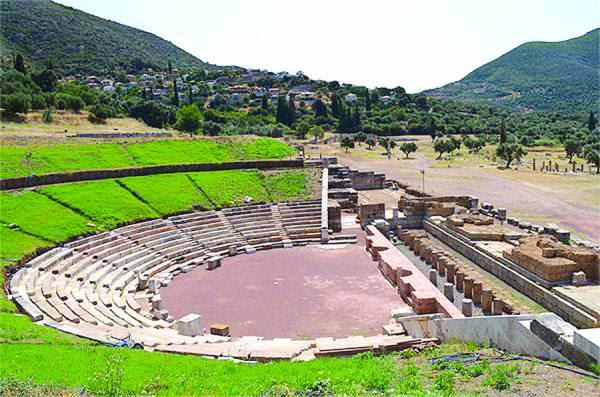 Ανοίγει σήμερα μετά από 2.300 χρόνια το θέατρο της Αρχαίας Μεσσήνης