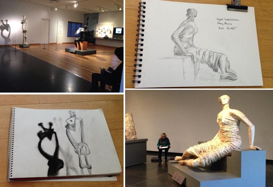 Toronto Urban Sketchers, TOUSK, AGO, Art Gallery of Ontario