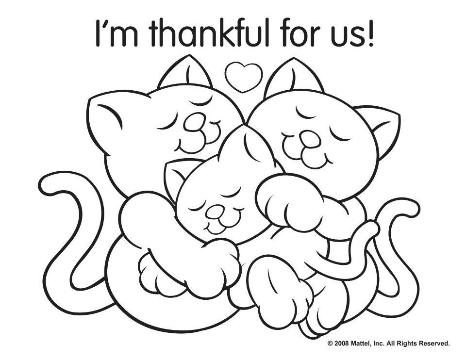 Fun Coloring Pages For Kids Thanksgiving Drawing With Crayons