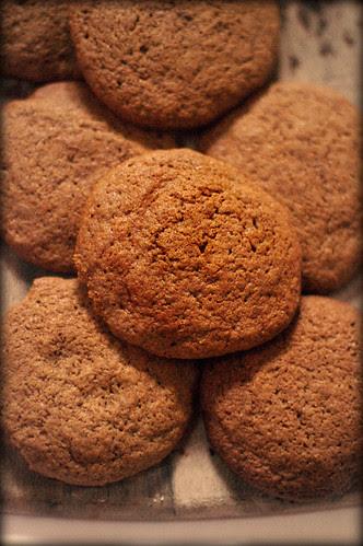 spicy molasses cookies