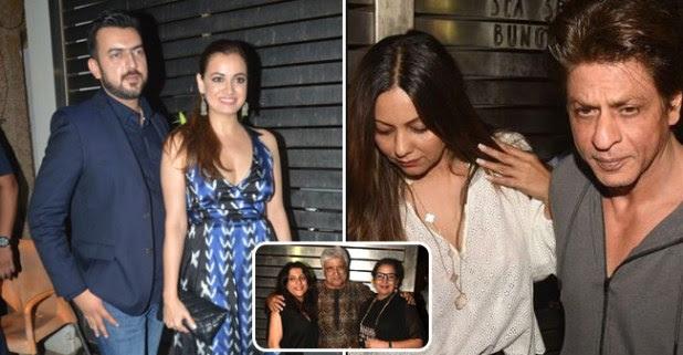 Popular Bollywood Biggies Mark Their Presence At Zoya Akhtar's Birthday Bash