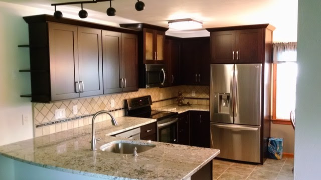 Dalton Cocoa Cabinets - Transitional - Kitchen - other ...