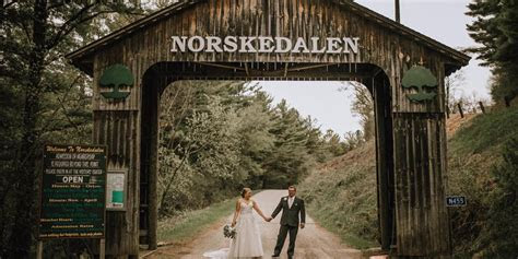 Norskedalen Nature and Heritage Center Weddings   Get
