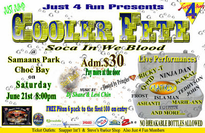 St.Lucia Carnival 2008: Just 4 Fun Cooler Fete