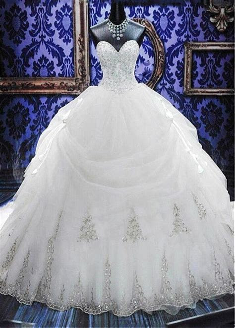 2015 New White/Ivory Wedding Dress Bridal Gown Ball Size 6