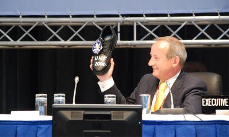 Bonn Climate talks: Yvo De Boer
