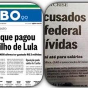 Globo publica errata admitindo que mentiu sobre filho de Lula