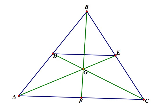 The Centroid And The Trisected Line