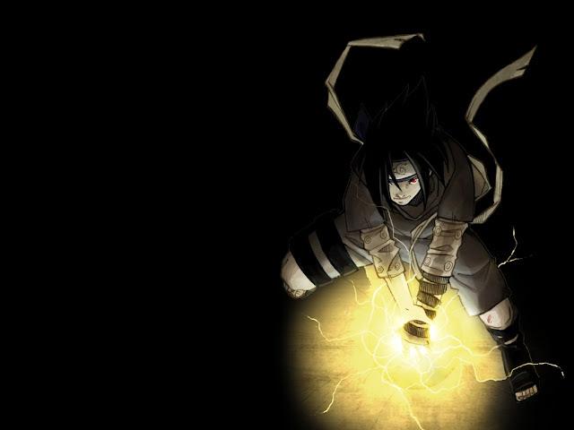 Naruto Wallpapers - Sasuke Uchida - Chidori