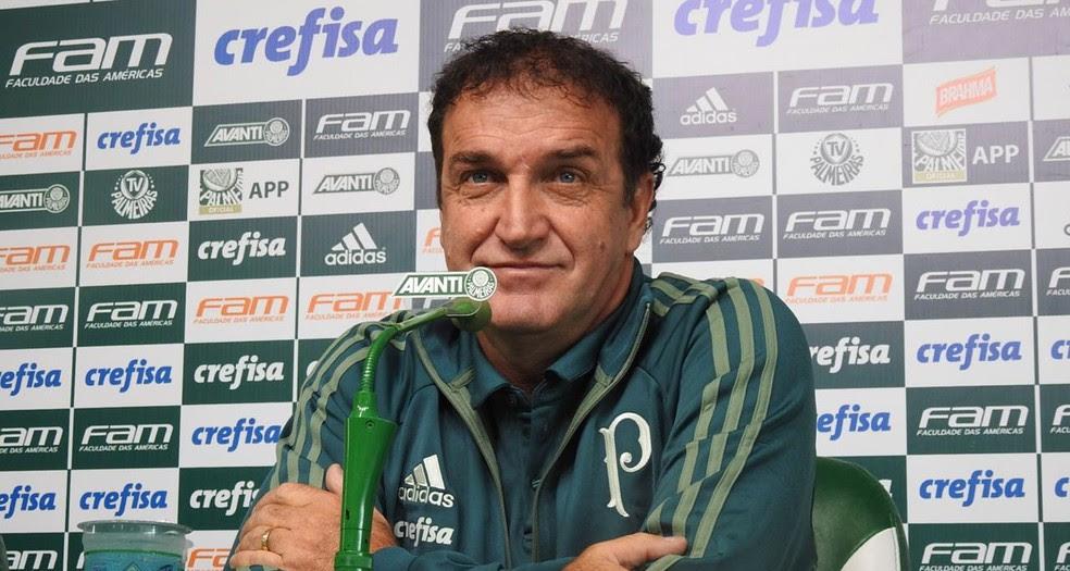Cuca está de volta ao Palmeiras (Foto: Tossiro Neto)