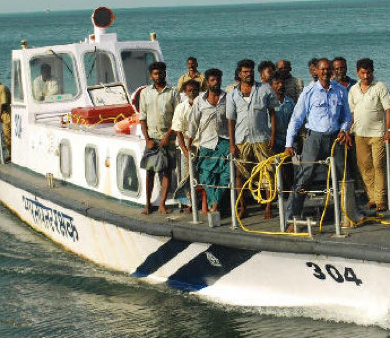 Seven missing fishermen and boat found at Maldivian borders