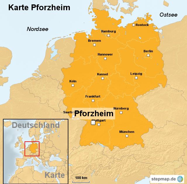 Pforzheim Stadtteile