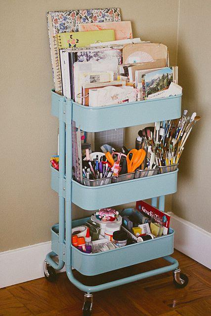 Ikea Raskog Cart by karahaupt, via Flickr