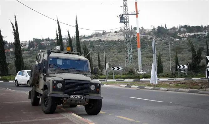 Tentativa de ataque terrorista em Samaria