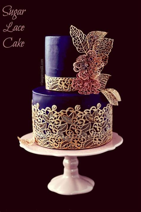 17 Best images about CAKE DESIGN USING SUGAR LACE on