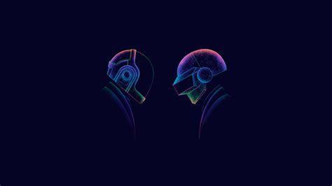 Daft Punk Minimalism 3, HD Music, 4k Wallpapers, Images