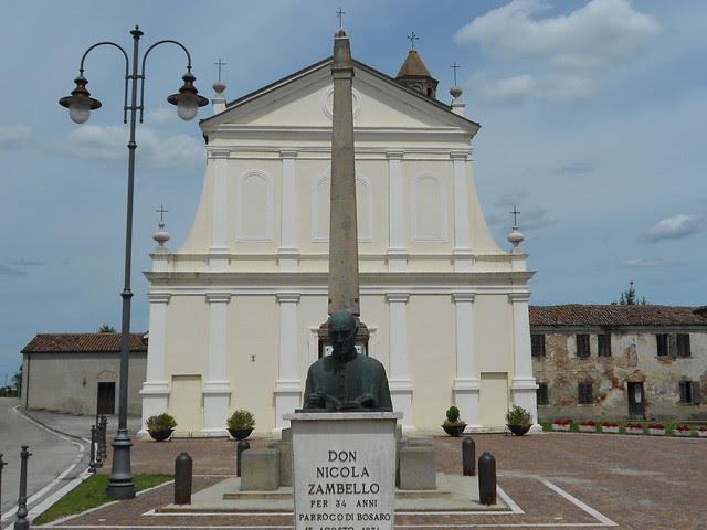piazza Maria Bolognesi a Bosaro