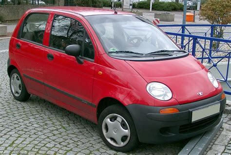 Auto Cars: Daewoo Matiz Review