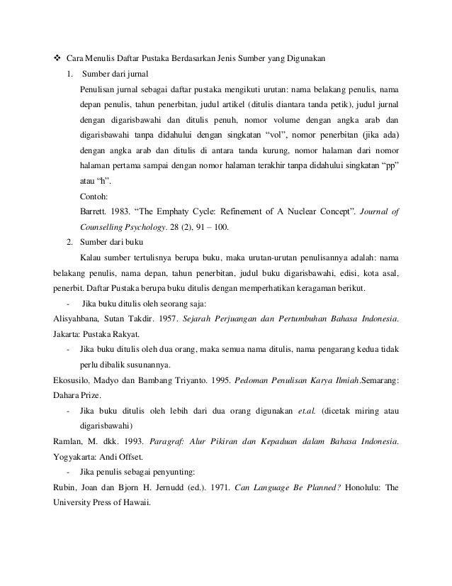 penulisan tesis bab 5