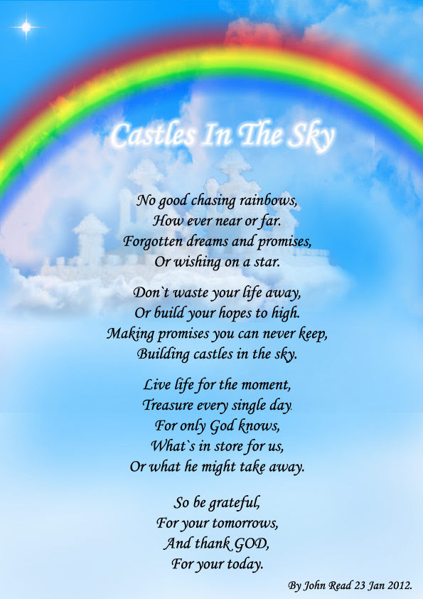 Castles In The Sky Spiritual Poetry