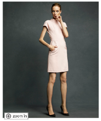 Karl Lagerfeld for Macy's Short Sleeve Ponte Sheath Dress