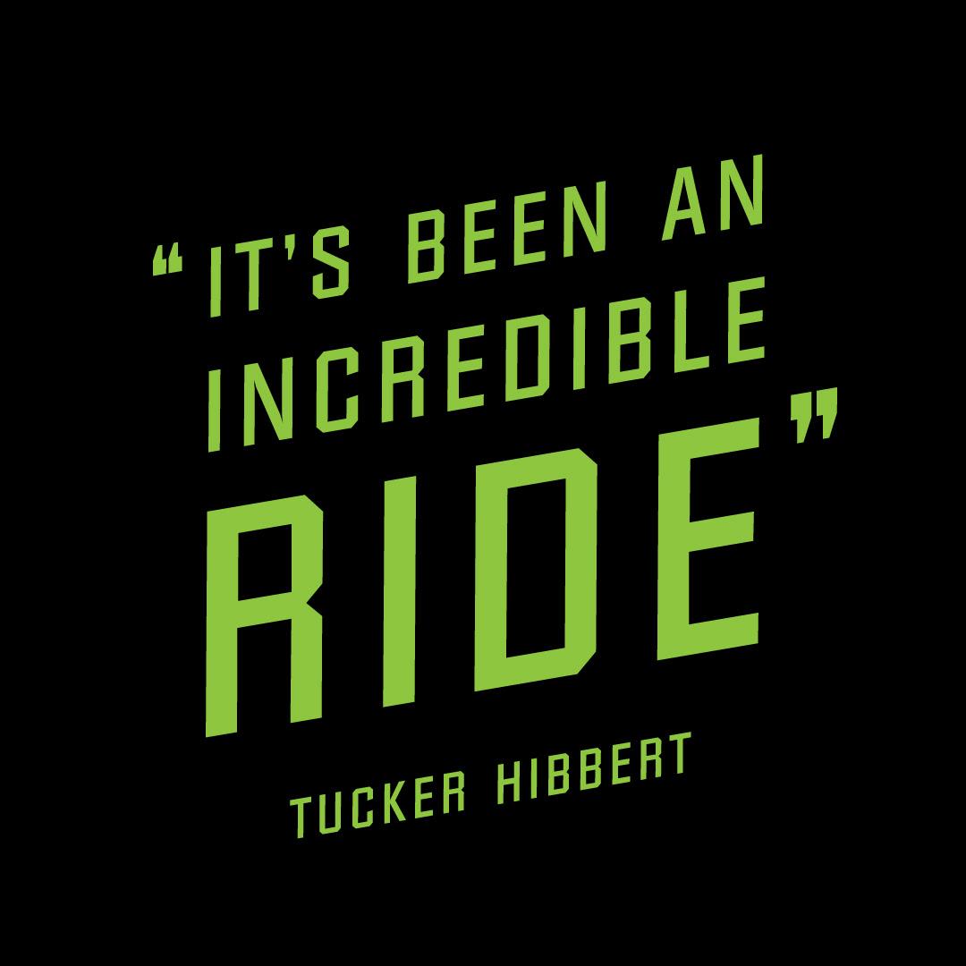 Tucker Hibbert Releases Incredible Ride Collection Tucker Hibbert
