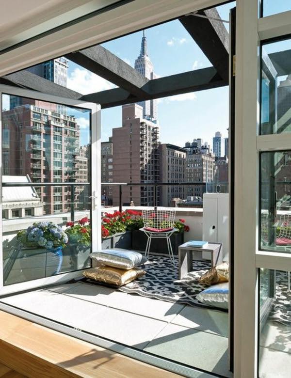 Schöne Terrasse einrichten - 100 tolle Ideen!