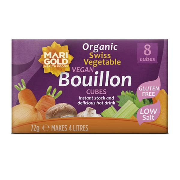 Organic Vegetable Bouillon Swiss Stock Cubes in 8cubes ...