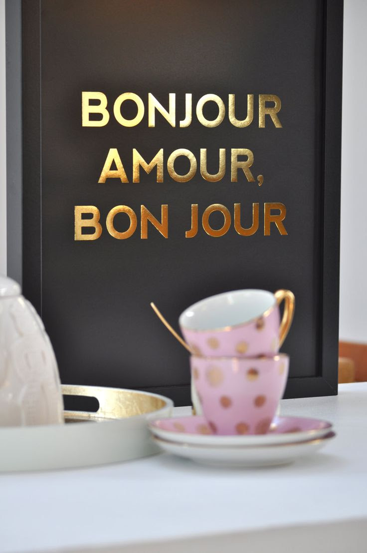 Bonjour Amour Bon Jour Good Morning Love Have A Good Day We