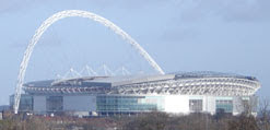 Wembley Stadium from One Tree Hill