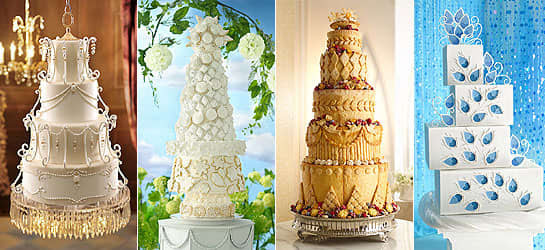 Royal Wedding Cakes, Royal Wedding Cakes of Prince William and Kate Middleton, Best Pictures