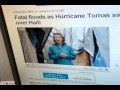 Fatal floods as Hurricane Tomas sweeps over Haiti